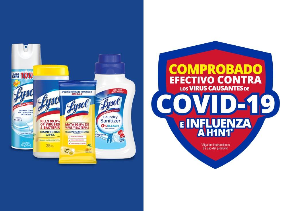 Conoce más acerca de nuestros productos efectivos contra el COVID-19