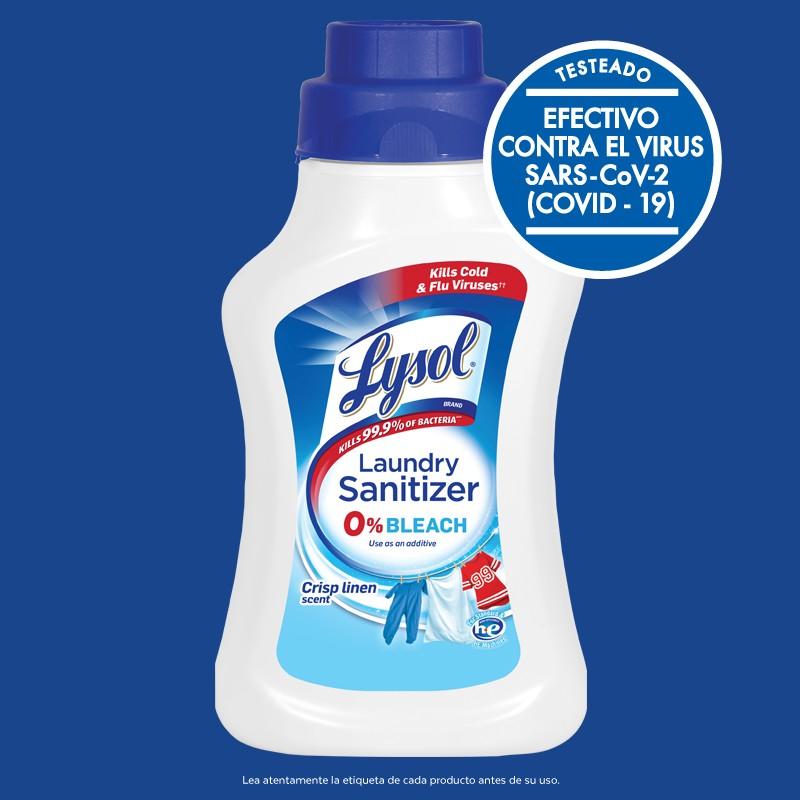 TESTADO EFECTIVO CONTRA EL VIRUS SARS-COV-2 (COVID-19) CONTACTO POR 2 MIN.  Lea atentamente la etiqueta de cada producto antes de su uso. *Mata en 2 minutos. Use el producto puro directamente sobre superficies duras no porosas.